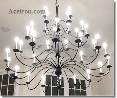 Lighting accessories for chandeliers