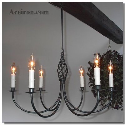 Ace wrought iron chandeliers aloadofball Gallery