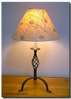 Ace Wrought Iron Table Lamps By Clayton J Bryant