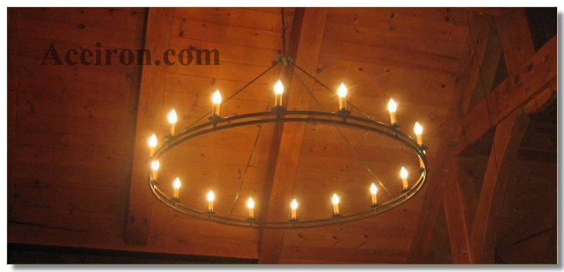 Click Here For Double Ring Chandeliers