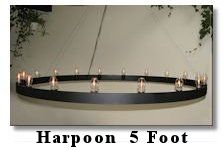 click here to look at my 5 Foot Harpoon Chandelier